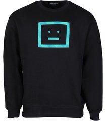 check face sweatshirt