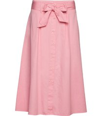 geneve skirt knälång kjol rosa nué notes