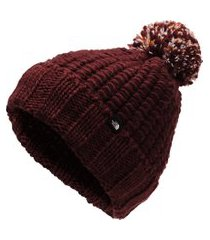 gorro the north face cozy chunky vinho