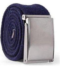 cinto masculino tecido fivela ajustável confortável casual - masculino