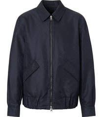 burberry harrington econyl® reversible jacket - blue
