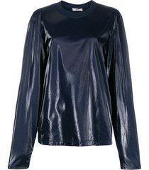 zilver aqua shine sweatshirt - blue