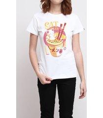 camiseta cat noodles