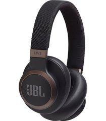 audifonos inalambricos jbl live 650bt con control de voz new negro