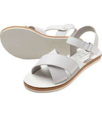 sandalia blanco  offcorss