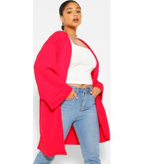 plus mouwloze kimono, rood