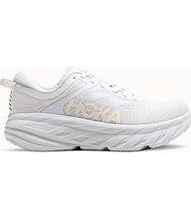 hoka one one sneakers bondi 7 colore bianco