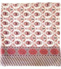 pañuelo geometrico rosado i-d