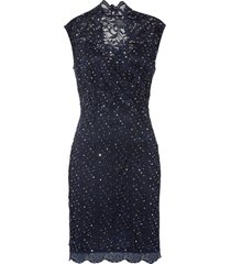 abito in pizzo con paillettes (blu) - bodyflirt boutique