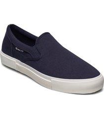 champroyal slip-on shoes sneakers blå gant