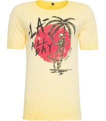 t-shirt masculina day yellow - amarelo