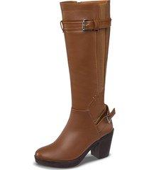 botas yamile miel para mujer croydon