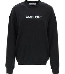ambush sweatshirt with logo embroidery