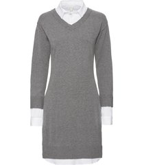 abito in maglia (grigio) - bodyflirt boutique
