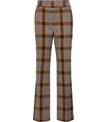 ollieiw bootcut pant pantalon met rechte pijpen grijs inwear