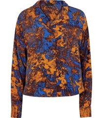 blus pansy shirt