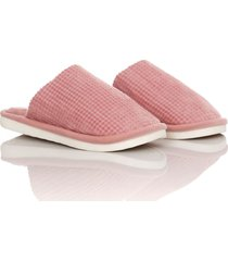 slippers comfy colors mujer rosado