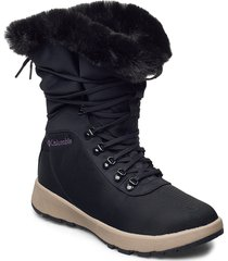 slopeside village™ omni-heat™ hi shoes boots ankle boots ankle boot - flat svart columbia