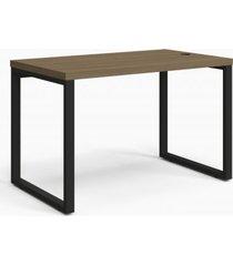 mesa secretária kappesberg f120 frame carvalho munique e preto fosco