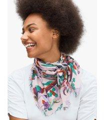 kate spade new york fleur noveau square scarf