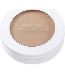 pó compacto new complexion one-step compact makeup revlon - sand beige