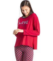 pijama legging poá fun