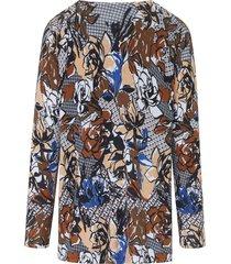 trui met ronde hals en lange mouwen van emilia lay multicolour