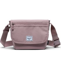 herschel supply co. mini grade messenger bag - pink