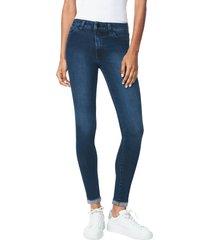 women's joe's the icon crop skinny jeans, size 24 - blue