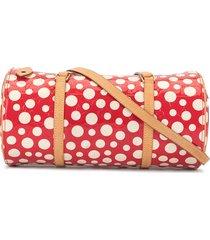 louis vuitton pre-owned 2012 vernis dot infinity papillon shoulder bag