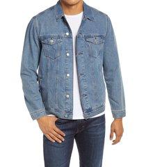 men's mavi jeans drake denim trucker jacket