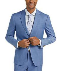 james tattersall kings cross blue slim fit suit