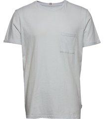 brenon linen t-shirt t-shirts short-sleeved grå les deux