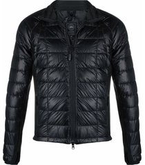 canada goose recycled polyester padded jacket - black