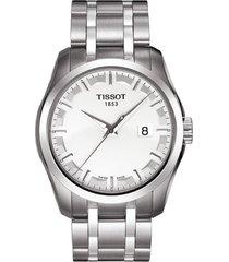 reloj tissot couturier quartz  t035,410,11,031,00 hombre