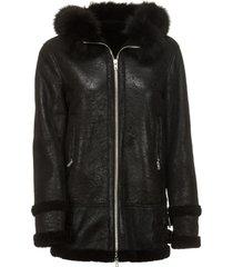 bully sheepskin coat