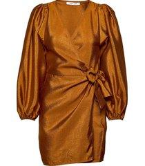 magnolia short dress 11244 kort klänning brun samsøe samsøe