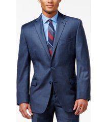 calvin klein blue big and tall modern fit jacket