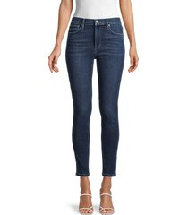 joe's jeans women's high-rise ankle-cropped skinny jeans - massy - size 27 (4)