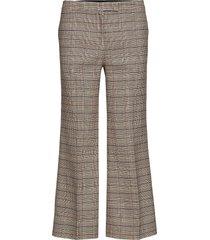 dylan cropped trousers wijde broek beige mayla stockholm