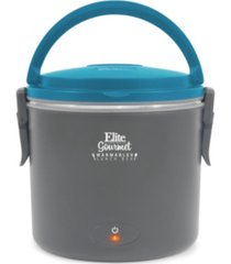 elite gourmet 33oz. warmables lunch box electric food warmer with stainless steel pot