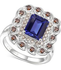 le vian multi-gemstone (2-5/8 ct. t.w.) statement ring in 14k white gold