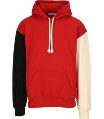jw anderson inside-out sleeve hoodie