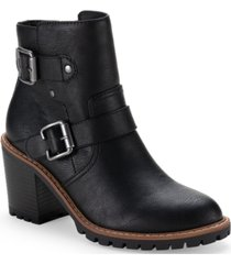 sun + stone evellyn booties, created for macy's women's shoes