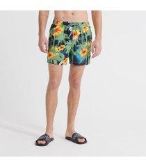 pantaloneta corta para hombre super 5s beach volley swm shrt superdry