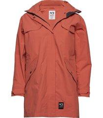græe l jacket zomerjas dunne jas oranje kari traa