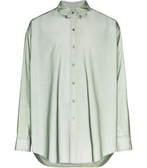 sies marjan anderson reflective oversized shirt - green