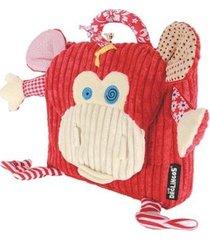 mochila infantil deglingos macaco masculina