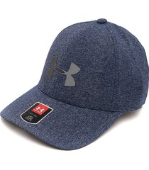 gorra azul-gris under armour av cool