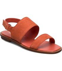 sula shoes summer shoes flat sandals orange aldo